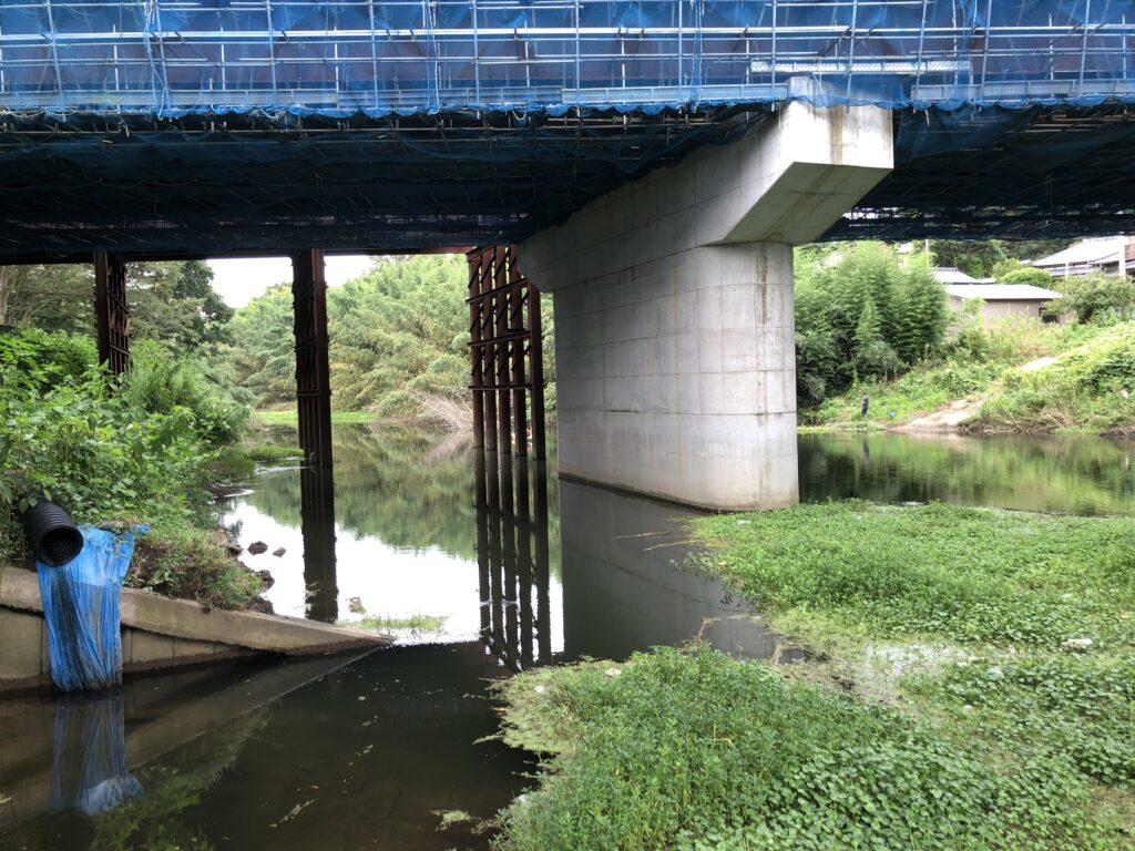 柏井橋の橋脚